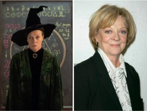 Minerva McGonagall - Maggie Smith